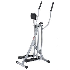 Sunny Health & Fitness SF-E902 Air Walk Trainer Elliptical Machine Glider w LCD Monitor